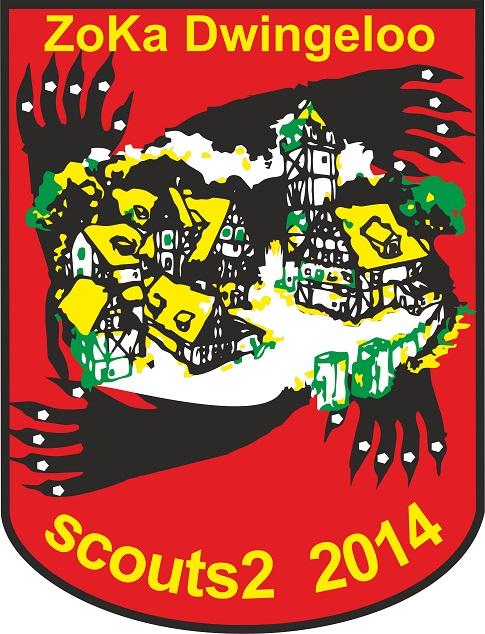 Scouting Meridiaan Socut2 globetrotters zomerkamp 2014 badge