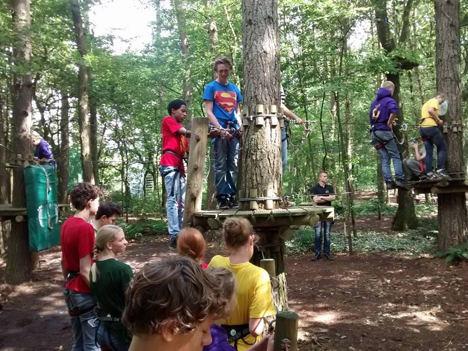 Scouts2 meridaan Hoogte parcours